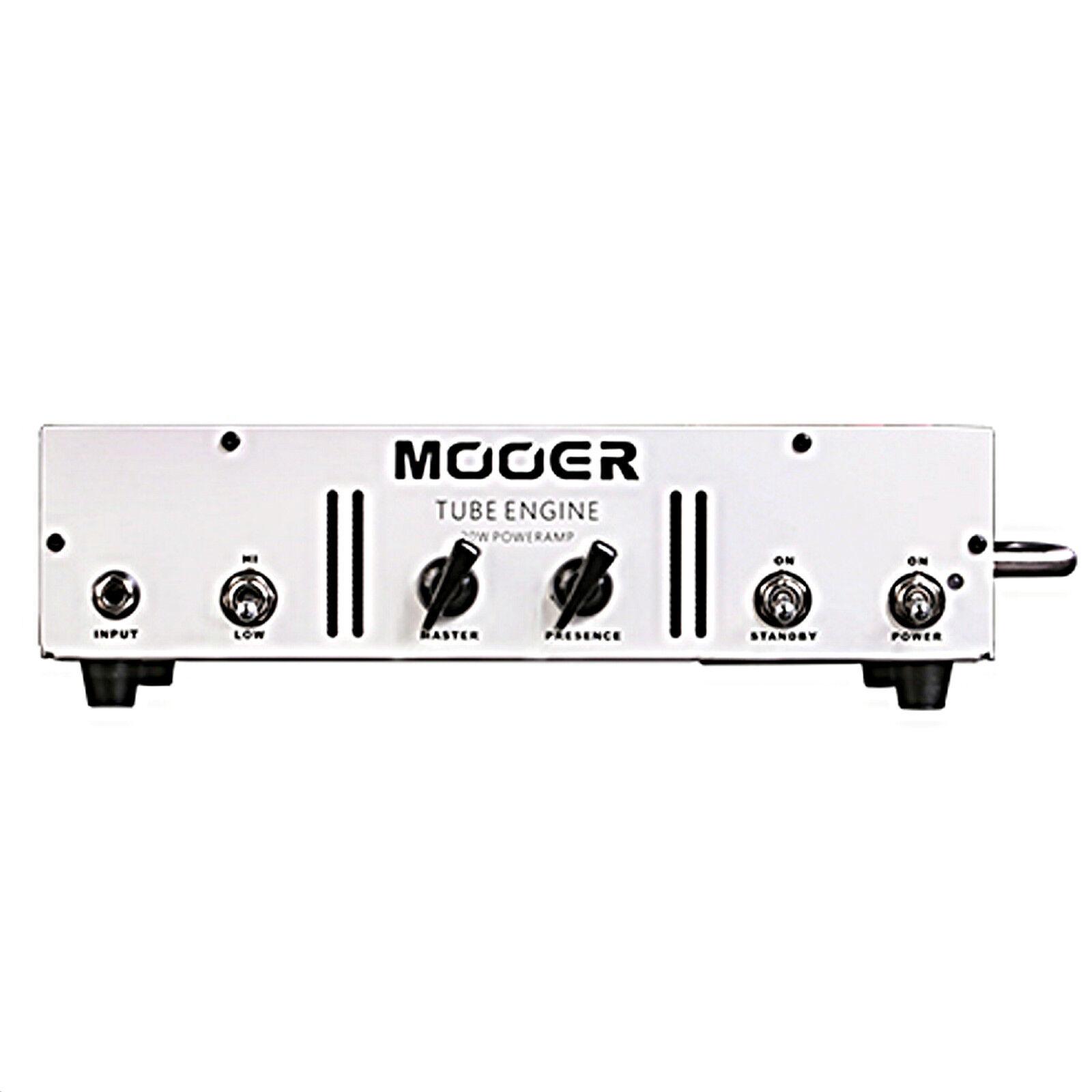 Mooer Tube Engine 20 All Tube Class A B 20 Watt Guitar Power Amplifier Head