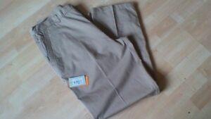 tag taglia casual 38r in con uomo in cotone legno Pantaloni da beige verde waOqnA7qxp