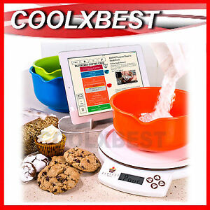 Perfect bake app control smart baking set kitchen scale for Perfect bake scale system