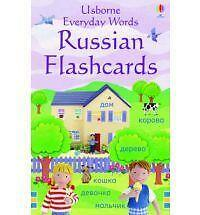 Everyday Words Russian Cards Cased