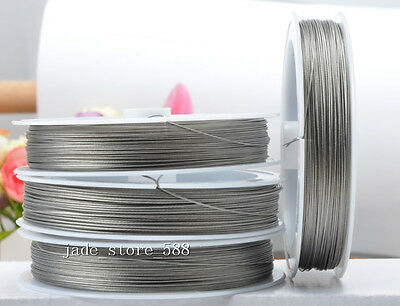 40m Stainless steel beading wire Charm jewellery finding 0.6mm