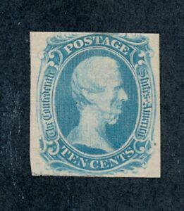 drbobstamps US CSA Scott #9 Mint No Gum Confederate Stamp (See Description)