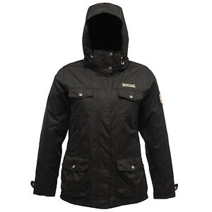 In Rainfall 3 Regatta Rwp130 Jacket Outdoor 1 Waterproof Ladies Black qF5vHt