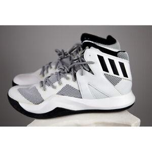 8515bbf5e Adidas Mens Size 13 Black   White Crazy Bounce Basketball Shoes