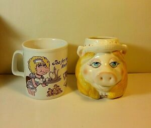 Miss-Piggy-Mugs-Tea-for-Two-hmm-amp-Jim-Henson-Original-2