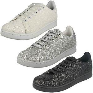 scarpe sportive donna con brillantini