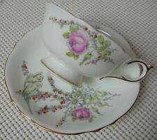 Vint 1930's China TEA CUP & SAUCER by PARAGON Princess Margaret Rose Birds #A358