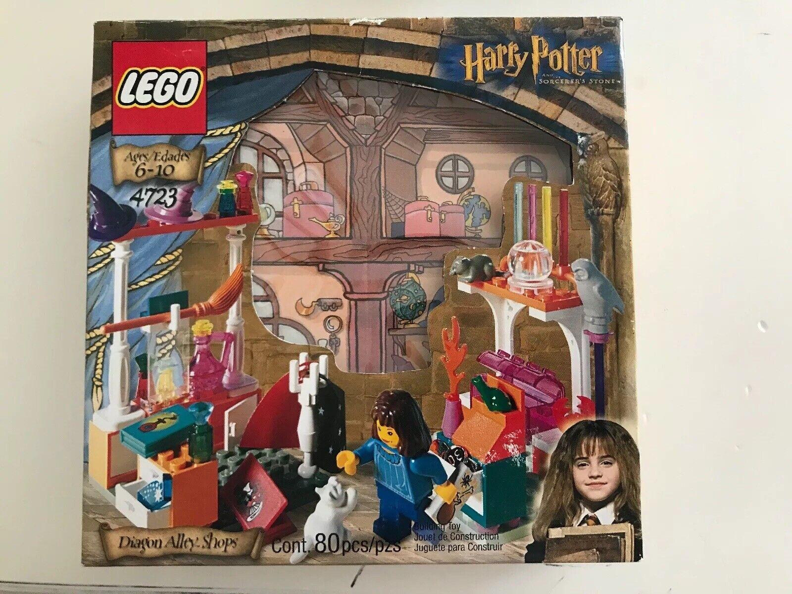 Lego  Diagon Alley magasins 4723 BRAND nouveau  livraison et retours gratuits