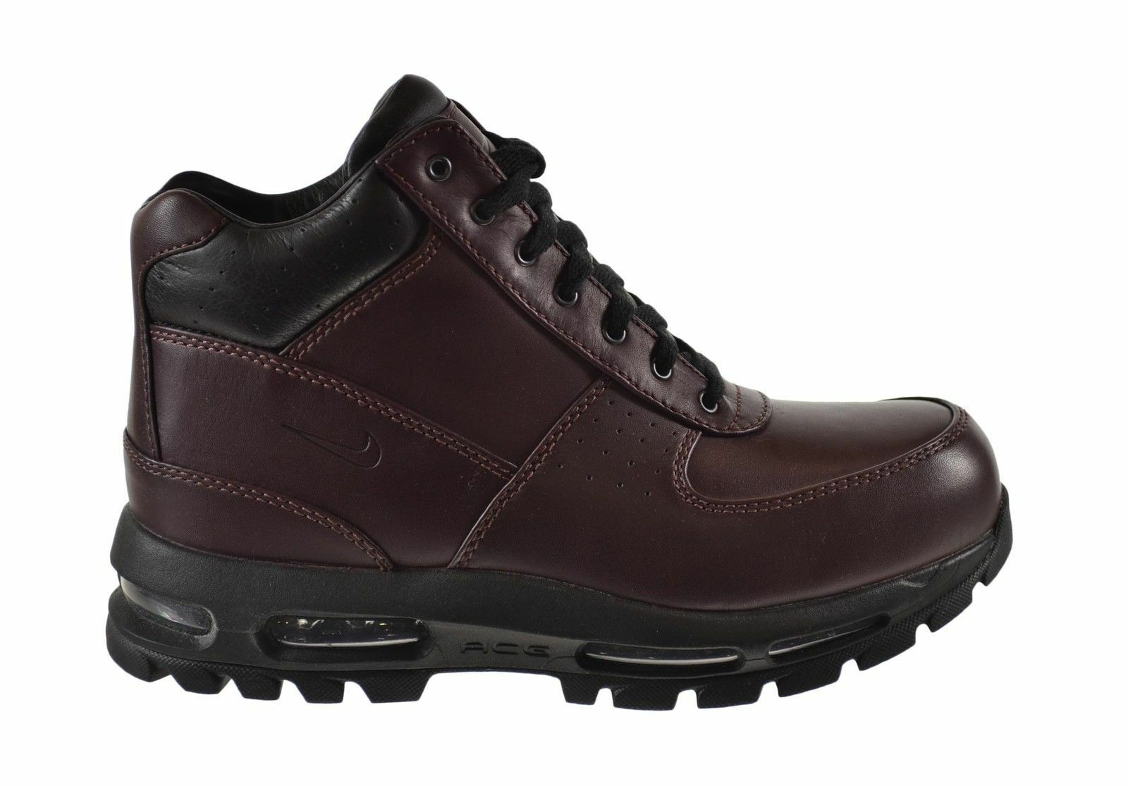 865031-601 Men's Nike Air Max Goadome Boots DEEP BURGUNDY/BLACK WATERPROOF