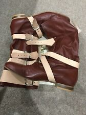 Mint Condition Vivienne Westwood Red Brick Pirate Boots Size42( Uk8 M/UK9 F)