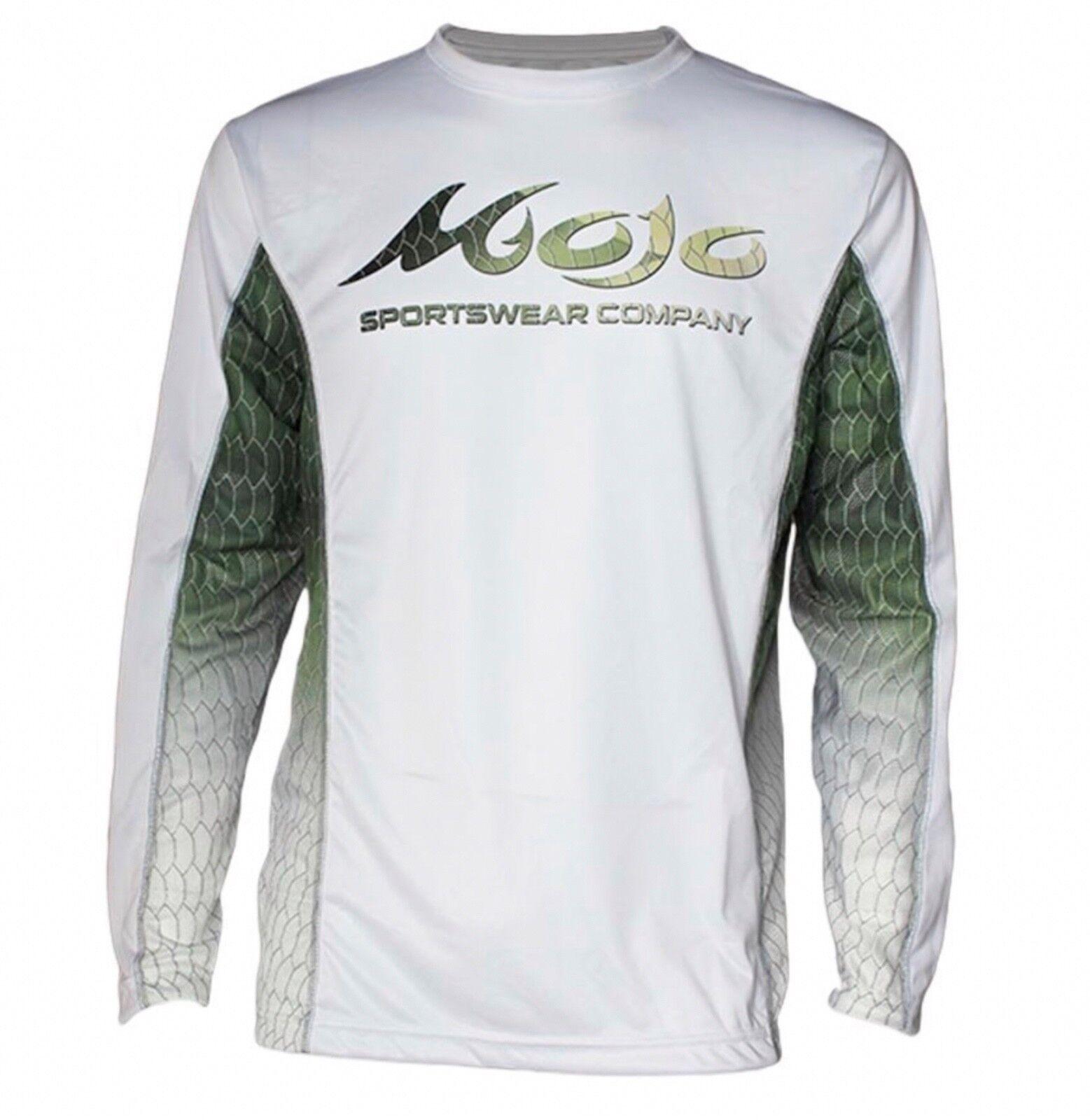 Mojo Sportswear Finny Vented Performance Fishing Boat T-shirt..XS-3X..Tarpon