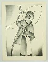 Cape Cod Original Vintage Lithograph Art Print