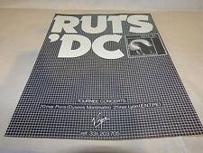 RUTS'DC - Publicité de magazine / Advert !!! ANIMAL NOW !! VINTAGE !!