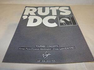RUTS-039-DC-Publicite-de-magazine-Advert-ANIMAL-NOW-VINTAGE