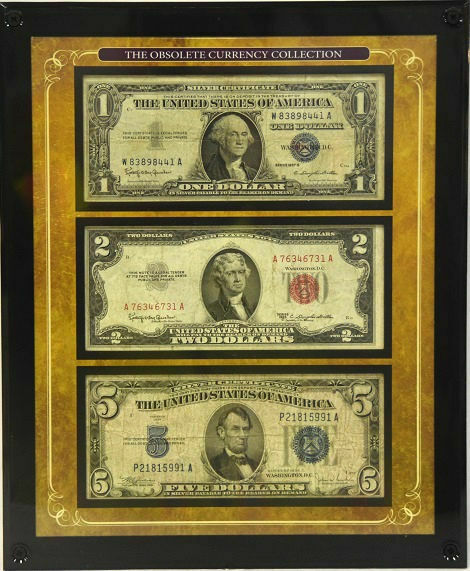 American Coin Treasure The Obsolete Currency Collection 1, 2, 5, Bills
