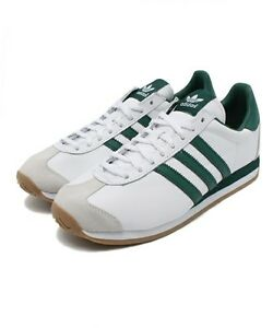 ADIDAS ORIGINALS COUNTRY OG WHITE GREEN sz US 5.5-10 Japan limited ... f08ab62f6