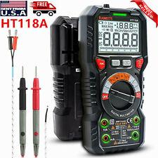 Industrial Digital Voltmeter Ammeter Ohmmeter Multimeter Volt Ac Dc Tester Meter