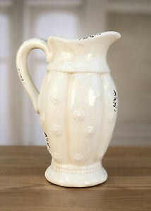 Image Is Loading Jug Cream French Provincial Home Decor Gift Homewares