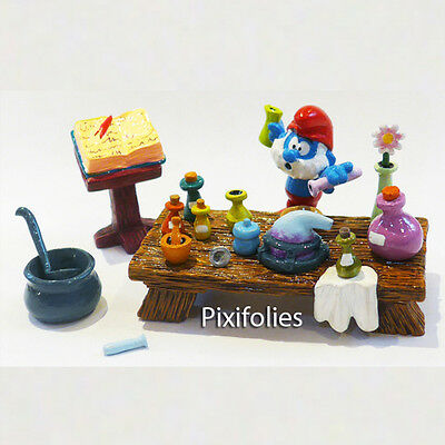 Pixi Paris Production 6411 Le Grand Schtroumpf Alchimist Smurfs Smurf Puffi