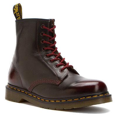 Dr. Martens Men's 1460  8 eye Rogue Arcadia Cherry Red Boot  US 10 EU 43 UK 9