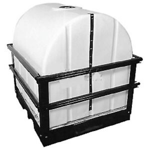 Details about NEW! Storage Tank with Forkliftable Skid - 300 Gallon  Capacity!!