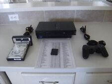 "Sony PS2, Playstation 2, ""Original"". ""FAT"", Includes 300GB HDD, Network Adapter"