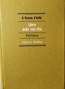 Libro-della-mia-vita-di-S-Teresa-D-avila-1975-Edizioni-Paoline-ER