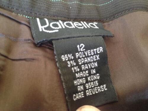 Marron Pantalon M Fines Rafaella Rayures fw4dUqYR
