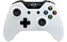 """BLACK/WHITE"" XBOX ONE RAPID FIRE MODDED CONTROLLER 40 MODS COD BO 3 IW GOW 4"