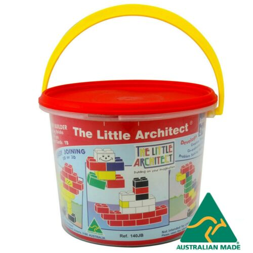 THE LITTLE ARCHITECT Kids Educational Easy Join Blocks Building Bricks Toy Games