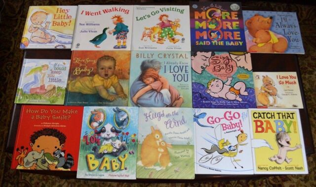 Set Of 15 Popular Baby Children S Bedtime Stories Picture Books B12