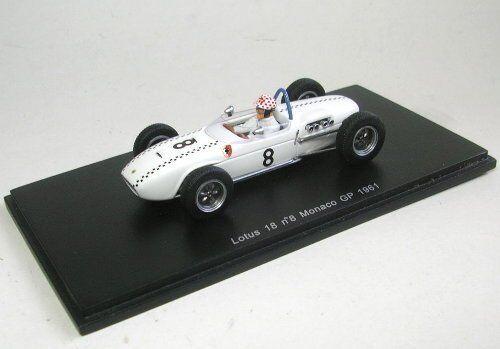 Lotus M. May 1961  8 Monaco Gp 1 43 Model s1828 SPARK MODEL