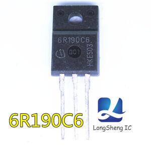 Nuevo-MOS-de-5PCS-6R190C6-IPA60R190C6-TO220F-Nuevo