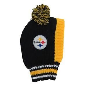 Pittsburgh-Steelers-Little-Earth-Production-NFL-Dog-Pet-Knit-Team-Winter-Hat