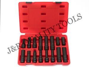 16-Piece-SAE-Metric-Universal-Locking-Lug-Nut-Master-Key-Set-Wheel-Lock-Removal