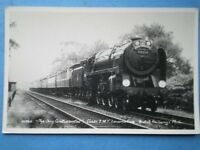 POSTCARD BR RIDDLES BRITANNIA 4-6-2 70001 LORD HURCOMB ON THE DAY CONTINENTAL