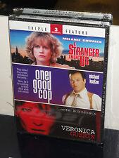 A Stranger Among Us / One Good Cop / Veronica Guerin (2-DVDS) Cate Blanchett NEW
