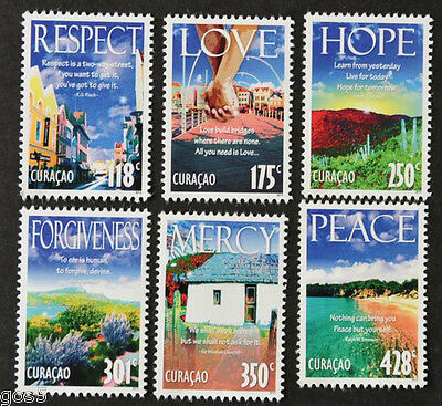 Curacao 2013 Virtues Postfrs/mnh Stamps