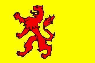 Vlag van de provincie  Zuid Holland 90 x 150 cm