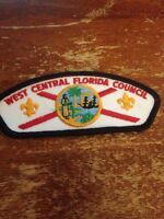 West Central Florida Council CSP BSA Boy Scouts of America New B284