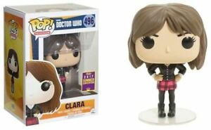 Rare-CLARA-DOCTOR-WHO-SDCC-FUNKO-POP-VINYL-NEW-in-MINT-BOX-Protector