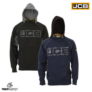 Details zu JCB Horton Heavyweight Hooded Top Mens Hoodie Sweatshirt Workwear Work Top Hoody