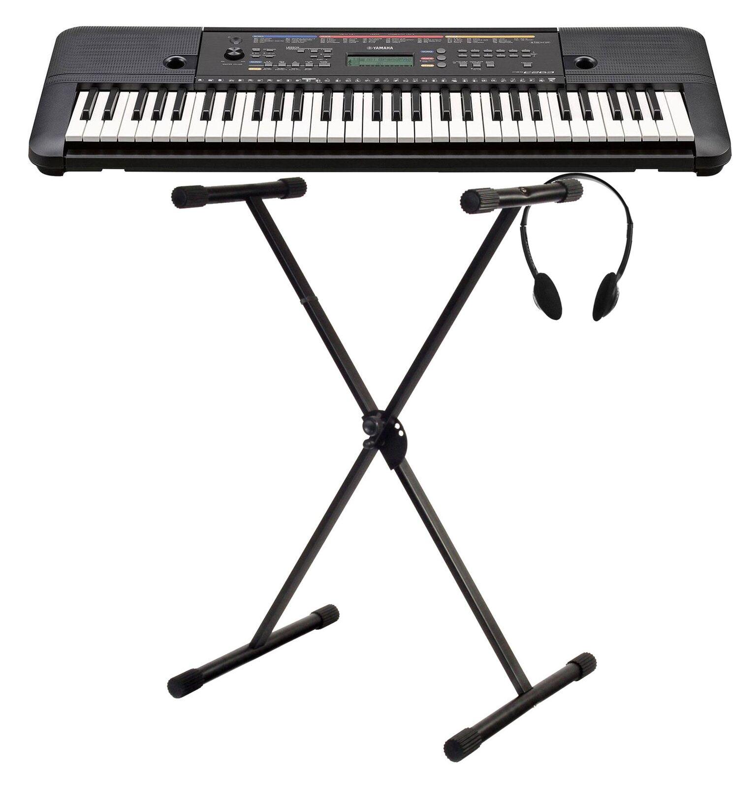 Tolles Yamaha Keyboard Set für Einsteiger inkl. Ständer, Kopfhörer & 112 Songs