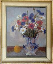 Osvald Schalin (1897-?): FLOWERS IN A VASE