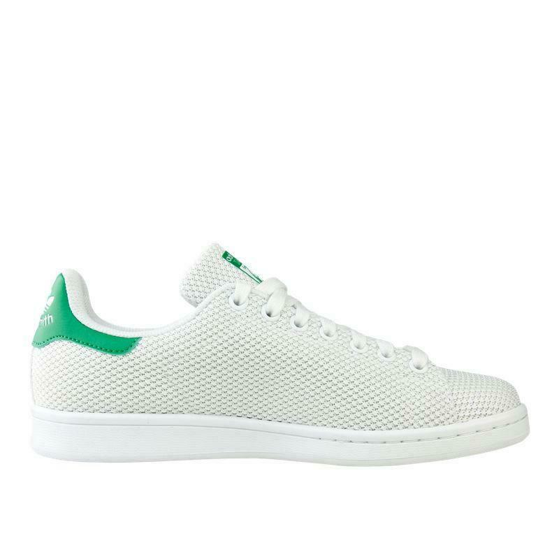 Womens ADIDAS STAN SMITH White Trainers S42100