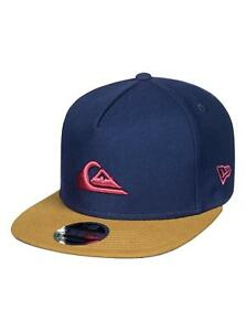 6f3aa712f2d QUIKSILVER NEW ERA 9FIFTY MENS BASEBALL CAP.NEW STUCKLES SNAPBACK ...