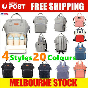 Luxury-Multifunctional-Baby-Diaper-Nappy-Backpack-Waterproof-Mummy-Changing-Bag