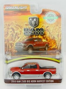 1-64-GreenLight-CASE-IH-RED-HARVEST-EDITION-2018-RAM-2500-Big-Horn-PICKUP-NIP