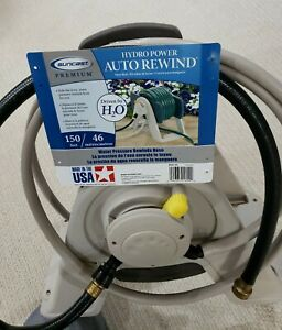 Automatic Rewinding Garden Hose Reel