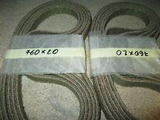 120 80 20 x Schleifband  Korund endlos Breite 19xLänge 520mm Körnung 40 60
